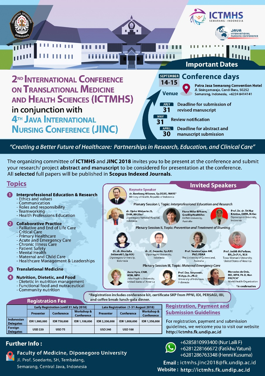 2nd International Conference ICTMHS
